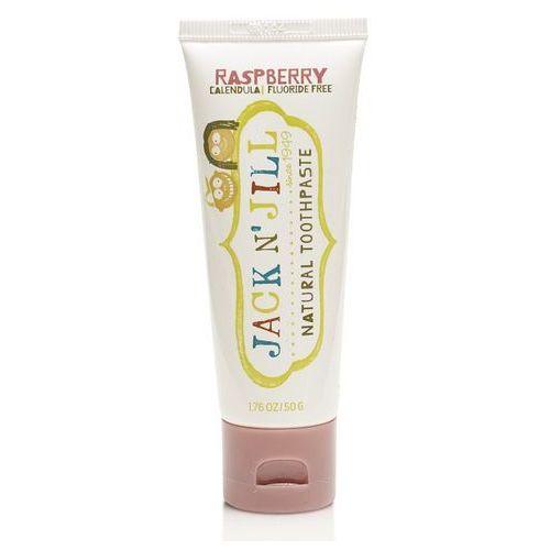 Jack n'jill Naturalna pasta do zębów - organiczna malina i xylitol 50g jjn05655