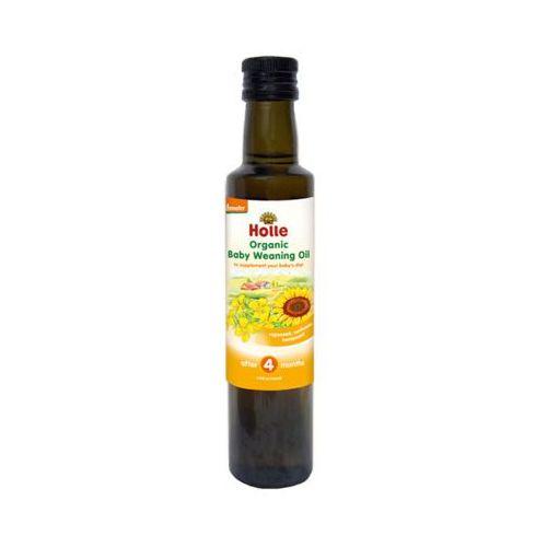 250ml organic baby weaning oil olej dla dzieci bio po 4 miesiącu marki Holle