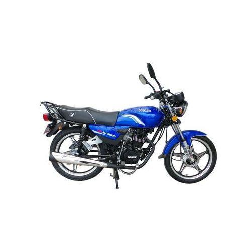 Motocykl ZIPP TD50 Toros El Viento 125 Niebieski (2015) od Media Expert