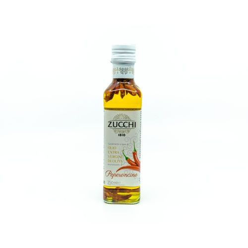 Oliwa extravergine z dodatkiem ostrej papryczki marki Fattorie del duca włoskie delikatesy