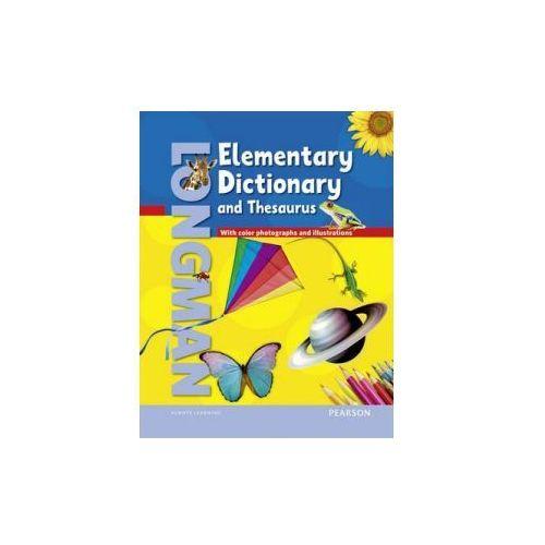 Longman Elementary Dictionary (American) and Thesaurus. Oprawa Twarda