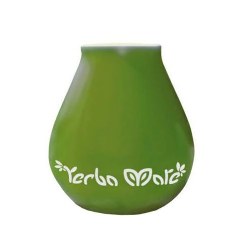 Yerba mate akcesoria matero ceramiczne 350ml luka green zielone marki Oranżada