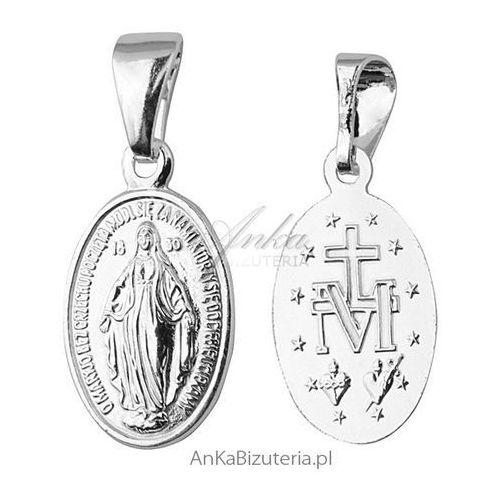 Medalik matka boska cudowna - srebrny medalik marki Anka biżuteria