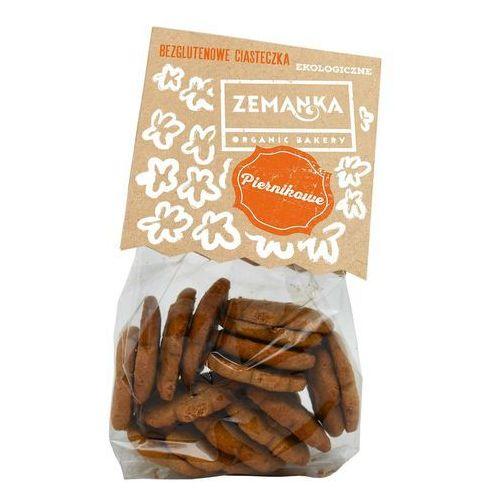 Zemanka (ciastka, krakersy bezglutenowe) Ciasteczka bezglutenowe piernikowe bio 100 g zemanka (8594071210984)