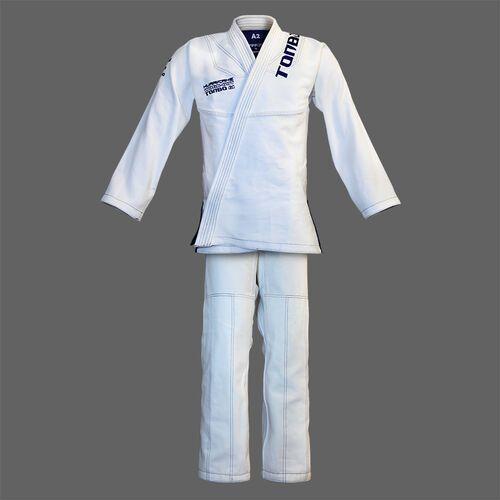kimono do BJJ / ju-jitsu HURRICANE, białe, 580g/m2 / 14oz (9 rozmiarów), ZJJBWHHUR