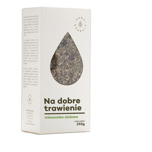 Mieszanka ziołowa - na trawienie 155g marki Aura herbals