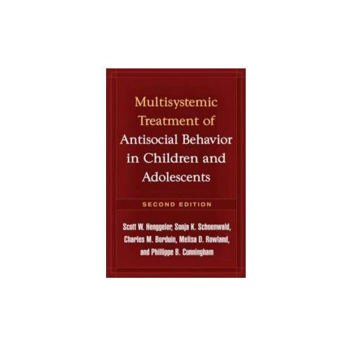 Multisystemic Therapy For Antisocial Behavior In Children And Adolescents