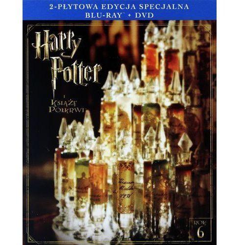 HARRY POTTER I KSIĄŻĘ PÓŁKRWI. 2-PŁYTOWA EDYCJA SPECJALNA (1BD+1DVD) (Płyta BluRay)