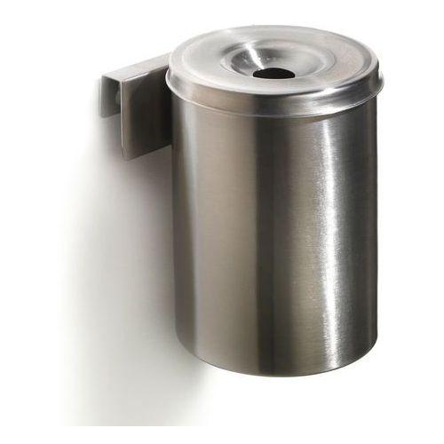Aj produkty Popielnica ścienna jack, Ø100x150 mm, stal nierdzewna