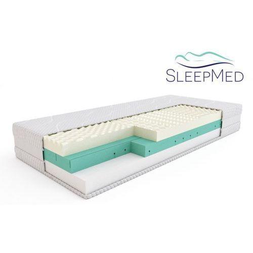 Materace sleepmed Sleepmed supreme - materac termoelastyczny, piankowy, rozmiar - 160x200 wyprzedaż, wysyłka gratis