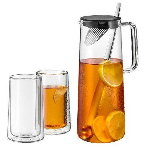 WMF zestaw do herbaty Ice TeaTime 1,2l + 2 szklanki 0636379999, BA3E-174C6