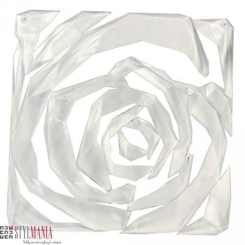 Panel dekoracyjny Koziol Romance transparentny 4 szt. KZ-2039535 - produkt z kategorii- panele ścienne