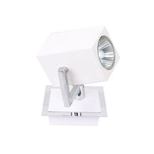 Italux Kinkiet mateo fh31151sjs3 lampa ścienna sufitowa spot 1x35w gu10 biały / chrom