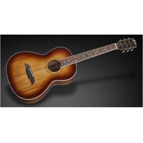 fp 14 m - vintage sunburst transparent high polish + eq gitara elektroakustyczna marki Framus
