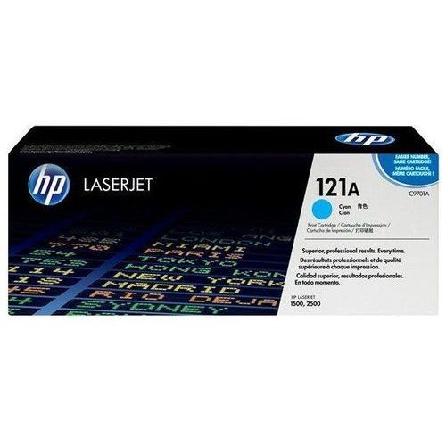 Wyprzedaż oryginał toner 121a do color laserjet 1500/2500 | 4 000 str. | cyan, opakowanie zastępcze marki Hp