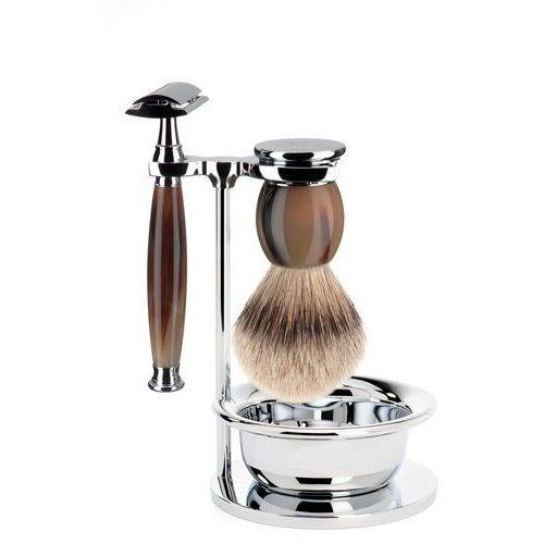 Zestaw do golenia Muhle SOPHIST S93B42SSR naturalny róg 4 częściowy, S93B42SSR