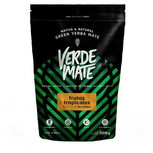 Yerba Verde Mate Green Frutos Tropicales 0,5kg