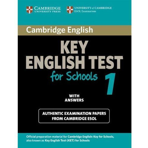 Cambridge KET for Schools 1 Student's Book (podręcznik) with Answers (9780521139922)