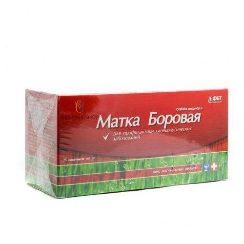 Fbt Gruszynka jednostronna z zieloną herbatą, 25 saszetek x 2 g