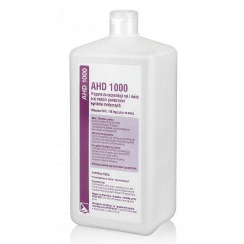 Lysoform AHD 1000 Alkoholowy płyn do dezynfekcji rąk i skóry oraz małych powierzchni (1000 ml)