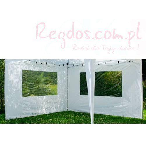 Ścianki, ścianka do pawilonu ogrodowego biała 2 szt. 3x3m - produkt dostępny w REGDOS