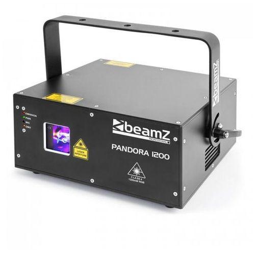 Beamz Pandora laser ttl 1200 rgb 12/23 czarny
