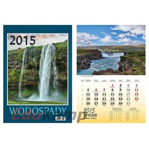 Kalendarz wieloplanszowy BESKIDY Wodospady W12 2018