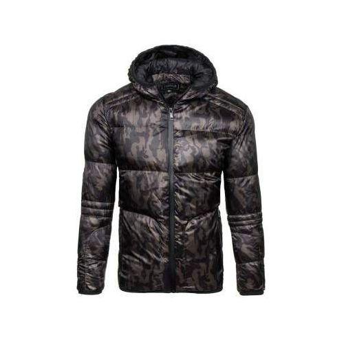 Kurtka męska zimowa sportowa moro-khaki denley 3146 marki J.style