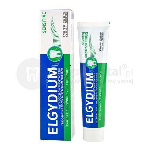 Elgydium sensitive pasta na wrażliwe zęby 75ml marki Pierre fabre