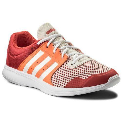 Adidas Buty - essential fun ii w cp8948 reacor/ ftwwht/ hireor