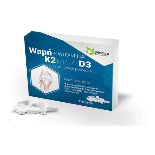Wapń + K2 + D3 x 30 tabletek, produkt z kategorii- Witaminy i minerały