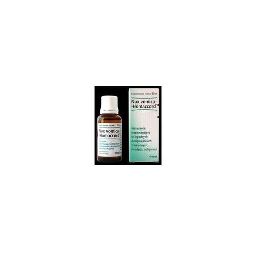 Oferta HEEL Nux Vomica Homaccord krople 30 ml (Homeopatia)