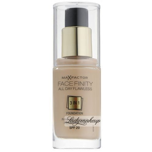 Max Factor Facefinity make up 3 w 1 odcień 60 Sand SPF20 (All Day Flawless) 30 ml