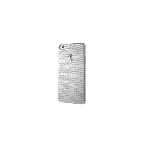 Ferrari hardcase perforated aluminium - etui aluminiowe iphone 6/6s (srebrny)
