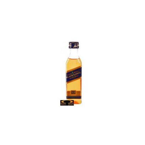 black label miniaturka 0,05l marki Johnnie walker