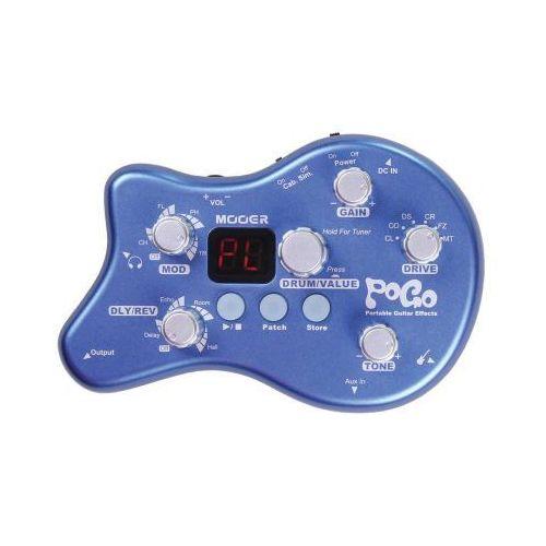 Mooer pogo, portable effects with power supply, efekt gitarowy