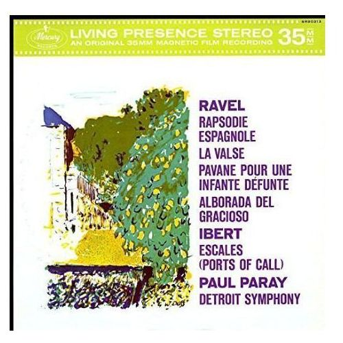 MERCURY LIVEING PRESENCE: RAVEL, IBERT - Paray Paul (Płyta winylowa) (0028947883173)