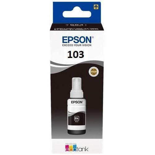 Tusz Epson ET103 Black do drukarek (Oryginalny) [65ml]