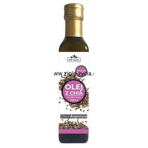 Olej z Chia, zimnotłoczony nierafinowany (250 ml) - Dr Gaja, 23108681