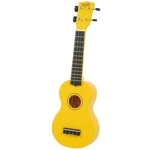 Korala uks 30 ye ukulele sopranowe kolor żołty