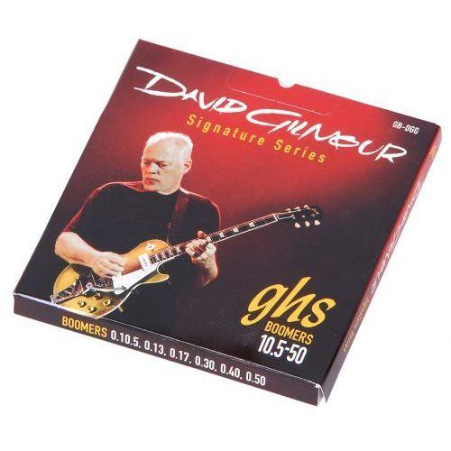 gbdgg david gilmour struny do gitary elektrycznej 10,5-50 marki Ghs