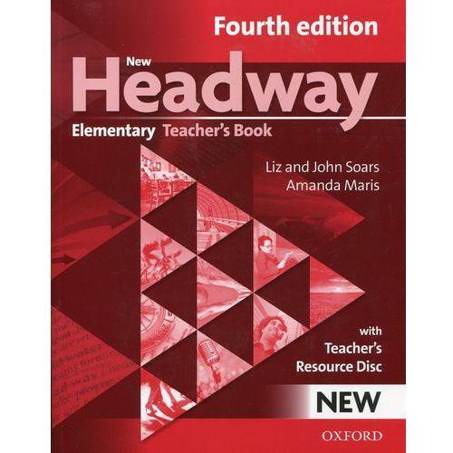 New Headway Elementary 4 ed. Teacher's Book + CD Oxford, oprawa miękka