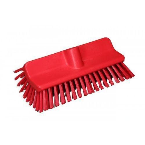 Szczotka kątowa High-Low do szorowania, średnia, czerwona, 265 mm, VIKAN 70474 ze sklepu Gastrosilesia