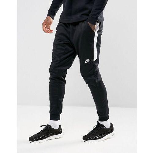 tribute poly joggers in black 884898-010 - black marki Nike