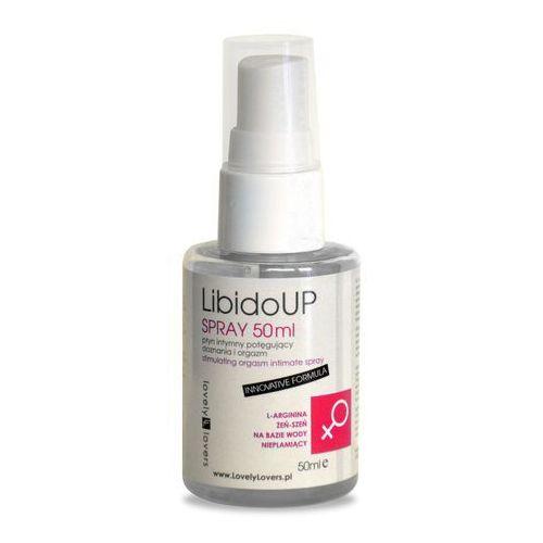 Spray zwiększający doznania dla kobiet Lovely Lovers LibidoUp Spray 50ml (5901687650128)