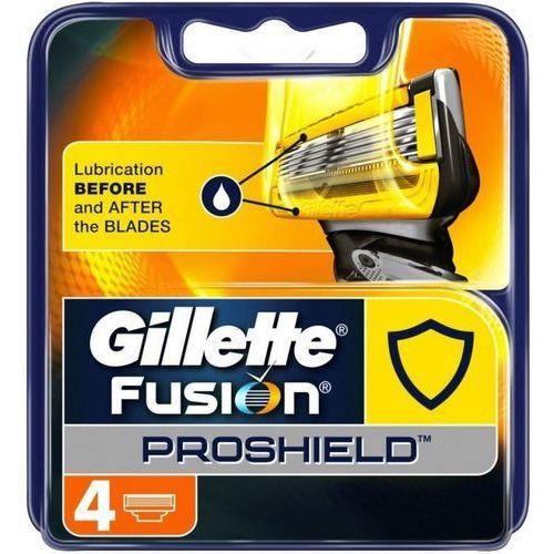 Gillette Fusion Proshield wkład do maszynki 4 szt dla mężczyzn (7702018390069)
