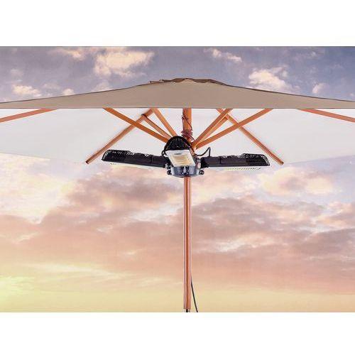 Elektryczny promiennik ogrodowy - trzyramienny grzejnik parasolowy - wiszący - STROMBOLI (7081458806324)