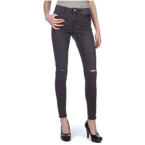 Brave Soul jeansy damskie Annachar2 S ciemnoszary, jeans