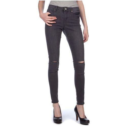 jeansy damskie annachar2 xs ciemnoszary, Brave soul