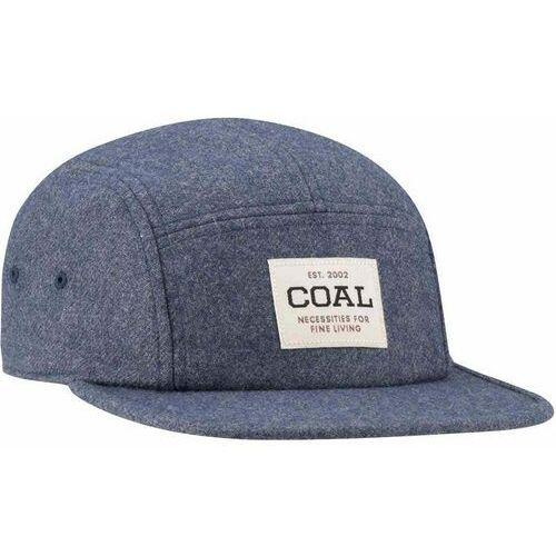czapka z daszkiem COAL - The Richmond Heather Navy Flannel (09) rozmiar: OS, kolor niebieski